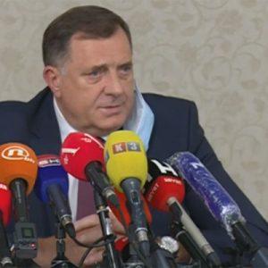 Dodik: Nećemo dozvoliti ugrožavanje bezbjednosti srpskog kadra u Sarajevu (VIDEO)