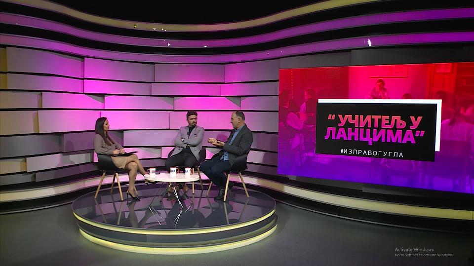 """IZ PRAVOG UGLA TV K3 – 22.11.2020. – Tema: Film o Veljku Čubriloviću """"Učitelj u lancima"""""""