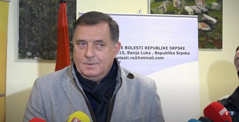 Dodik o Cikotiću: Tužilaštvo radi svoj posao (VIDEO)