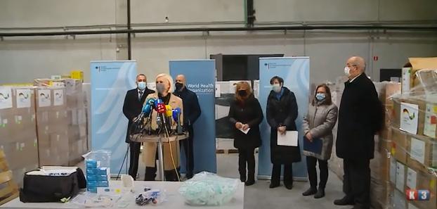 Sarajevo: Međunarodna pomoć za BiH u borbi protiv Kovid-a(VIDEO)