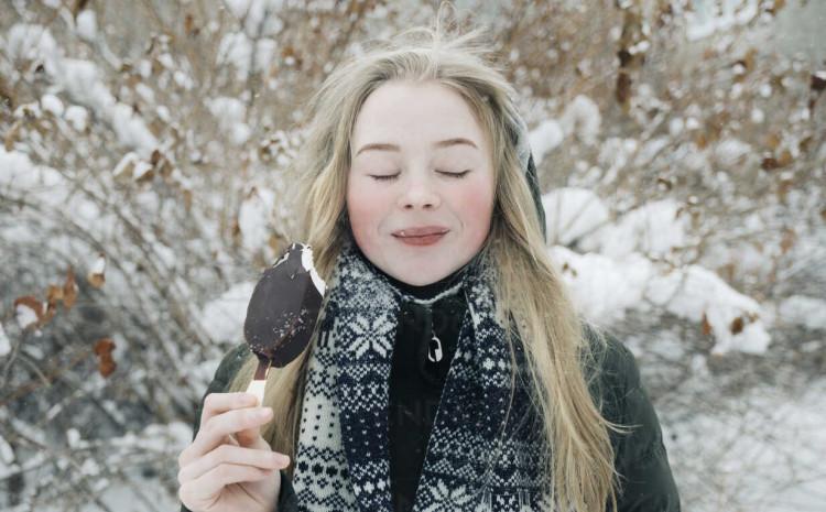 Zašto jesti sladoled zimi