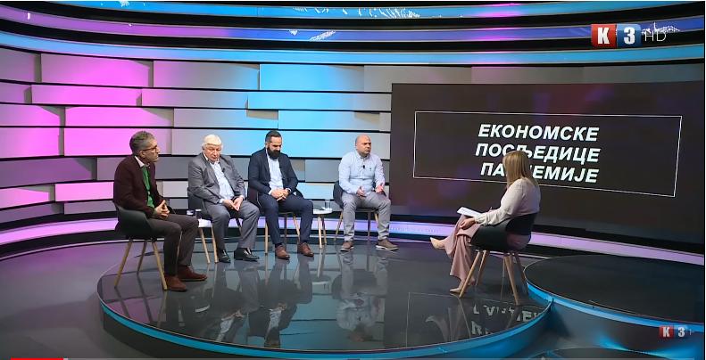 POTEZ TV K3 – Tema: Ekonomske posljedice pandemije – 06. 04. 2021.