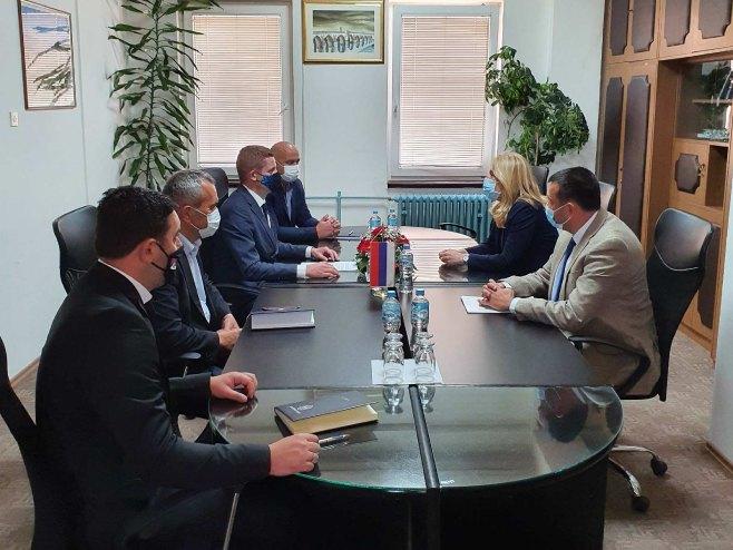 Cvijanović se sastala sa rukovodstvom opštine Gacko