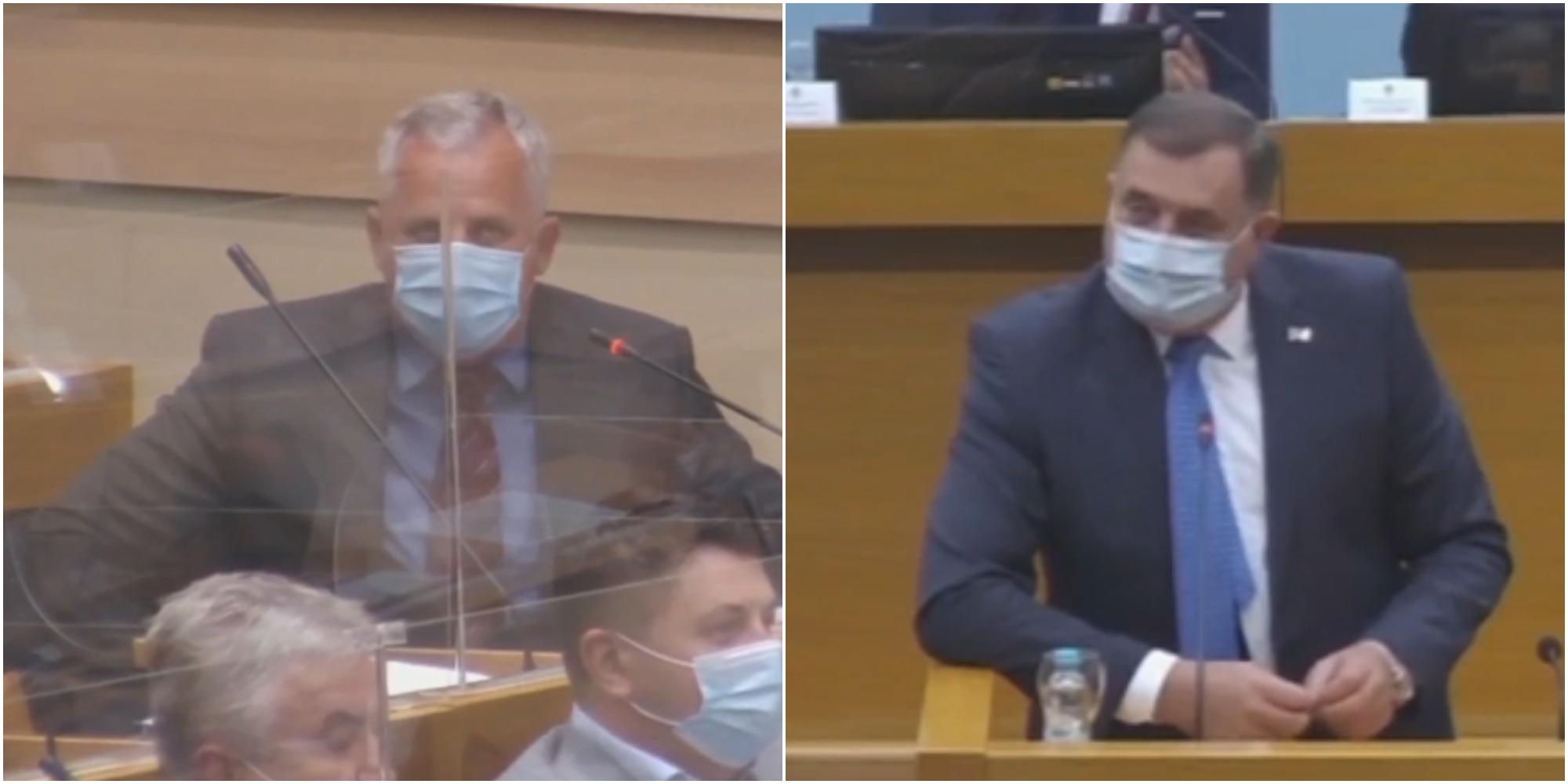 """Miladin Stanić udaljen sa sjednice NS RS, Dodik ga žestoko optužio: """"Tražio mi dva miliona KM da pređe u SNSD"""" (VIDEO)"""