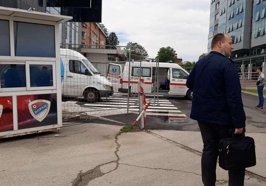 Radnik pao sa zgrade u Banjaluci