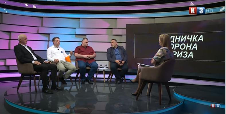 POTEZ TV K3 – Tema: Radnička korona kriza – 11. 05. 2021.