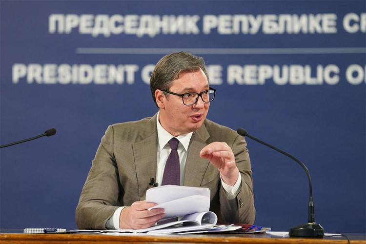 Vučić: Nećemo dozvoliti proterivanje Srba oružjem sa KiM
