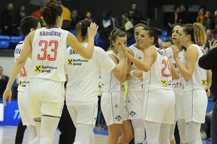 Košarkašice Srbije startuju na Euru