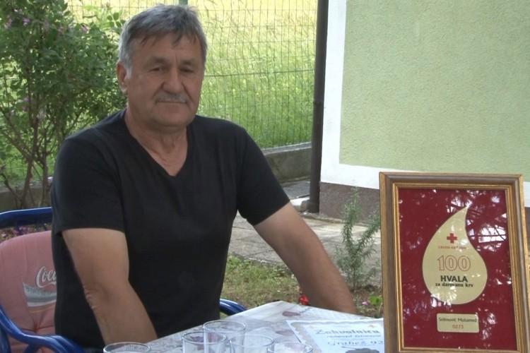 Krv Muhameda Selimovića spasila 400 života