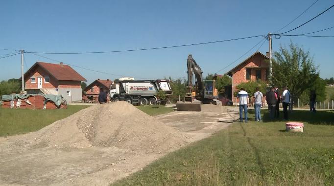 Prijedor: Radovi u naselju Janjića pumpa (VIDEO)
