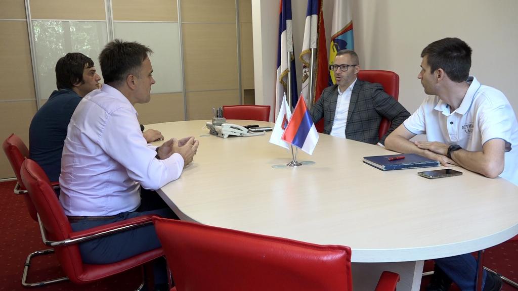 Prnjavor: Načelnik Stanara Radojica Ćelić u prvoj posjeti Prnjavoru