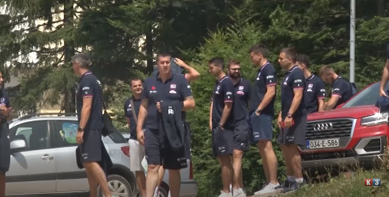 Odbojkaška reprezentacija srbije priprema se na Palama (VIDEO)