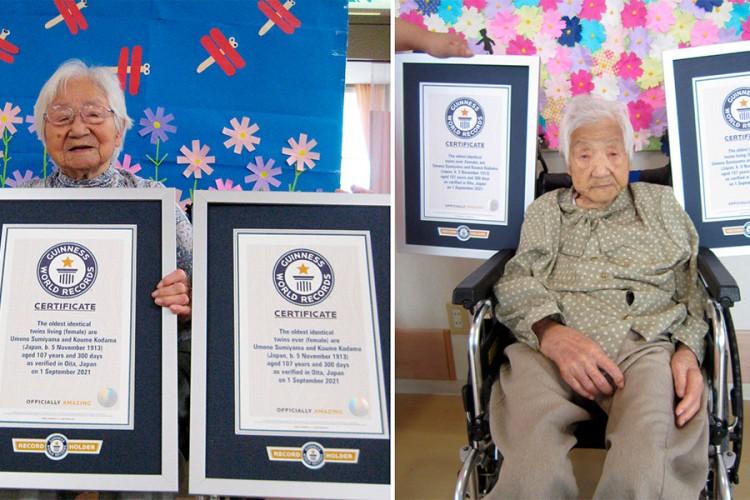 Sestre iz Japana su zvanično najstarije blizankinje na svijetu