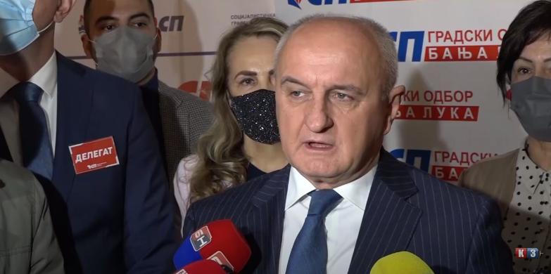 Đokić- Podrška Dodiku- izjava (VIDEO)
