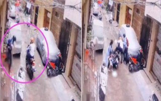Dva muškarca otela su ženi kćerkicu, hrabra majka spasila dijete! (VIDEO)